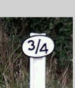 3Quarters Bed and Breakfast - 3/4 milepost on Swanage Railway